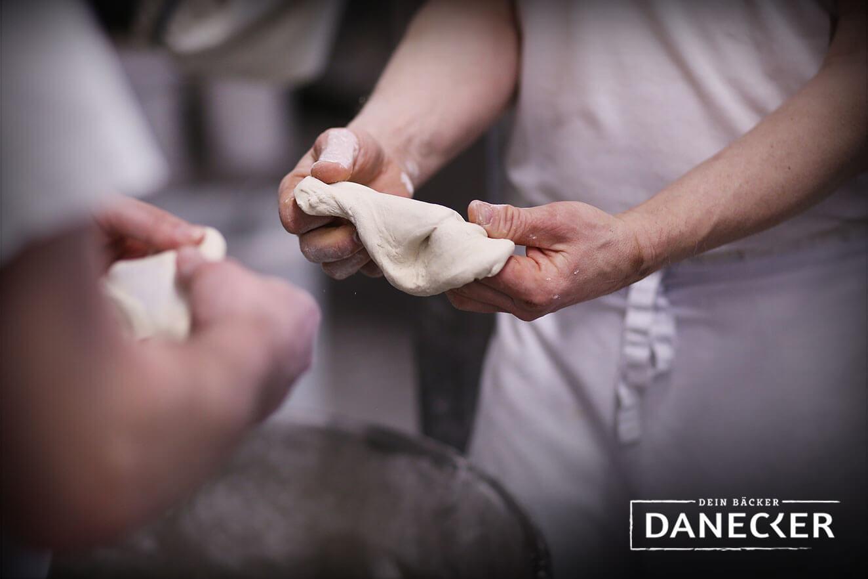 Produktionsstätte Bäckerei Konditorei Danecker - Teigprobe Sauerteig - Amstetten