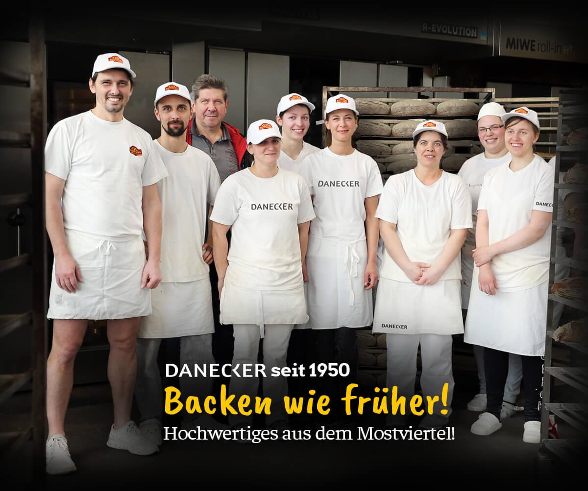 Bäckerei Danecker Logo